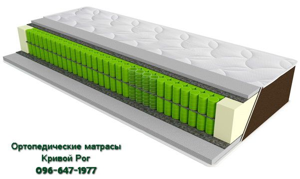 Ортопедический матрас SleepFly Organic delta Кривой Рог