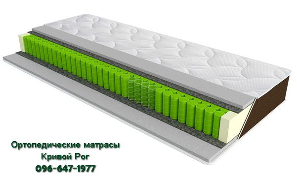 Ортопедический матрас SleepFly Organic epsilon Кривой Рог