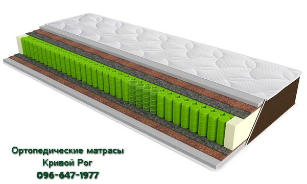 Ортопедический матрас SleepFly Organic omega Кривой Рог